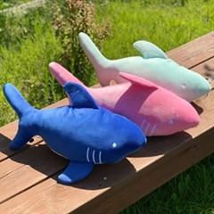 2+1 요미꼬미 모찌 상어 인형 3종 동물 애착 수면 바디필로우 쿠션