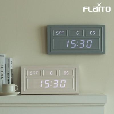 플라이토 웨인코스팅 인테리어 LED 벽시계 38cm
