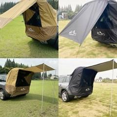 차량용 도킹텐트 차박텐트 차크닉 도킹 트렁크 텐트