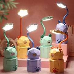 동물 단스탠드 탁상 테이블 조명 램프 색상랜덤