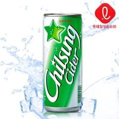 칠성사이다 250mlx30캔 /캔음료/음료수/탄산
