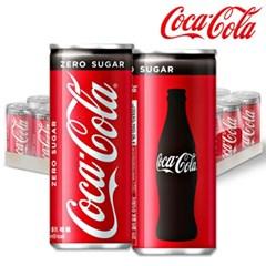 코카콜라 코크제로 250ml X30캔 /콜라/탄산음료/음료수