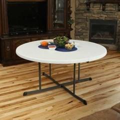 라이프타임 T25402 접이식 원형 테이블