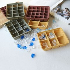 플래티늄 실리콘 아이스트레이 2P세트 3color