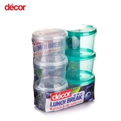 [데코어] 텔프레쉬 양념통 75ml 6P세트 BPAfree