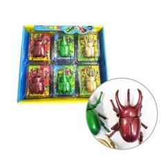 곤충 장난감 태엽인형 사슴벌레 하늘소 파워업 비틀킹