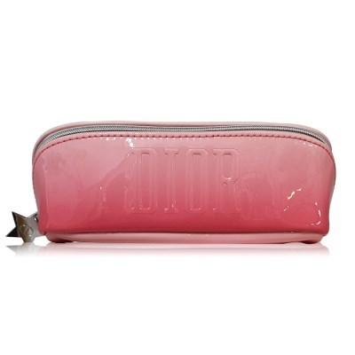 디올 핑크 에나멜 사각 파우치
