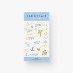 [Beach Towel] Sticker Seal
