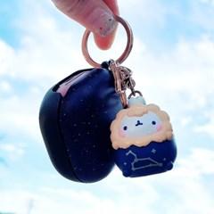 에어팟키링 몰랑이열쇠고리 몰랑 별자리 열쇠고리 키홀더