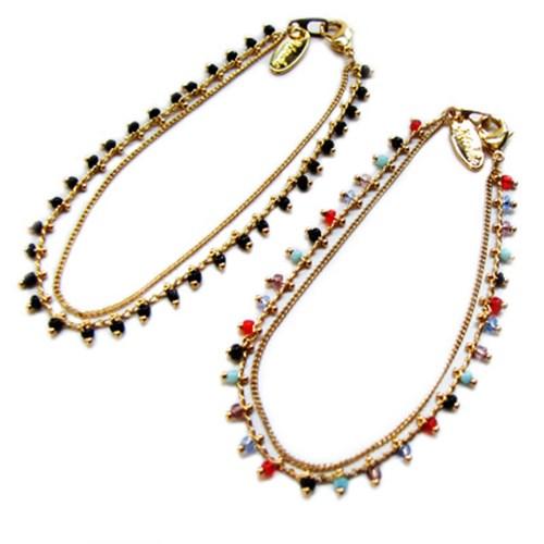 Chain Seed Beads Bracelet