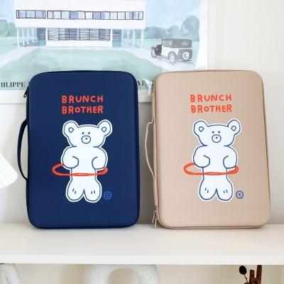 Brunch Brother 홀라베어 EVA 하드 노트북 파우치 15형