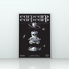 SPACE NIGHT STEEL BEAR-BLACK(포스터-A2)