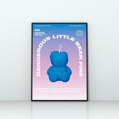 LITTLE FIRE COVY-BLUE(포스터-A2)