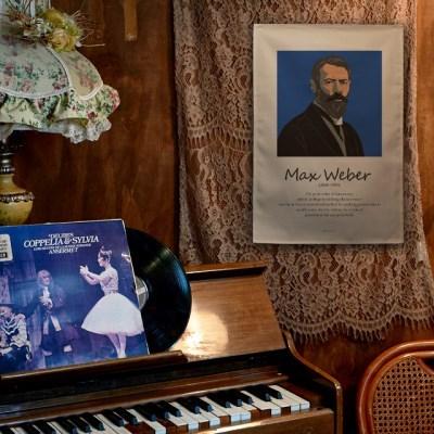 일러스트 패브릭 포스터 / 가리개 커튼_Max Weber