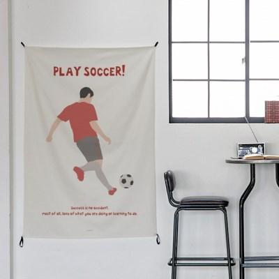 일러스트 패브릭 포스터 / 가리개 커튼_sports 03