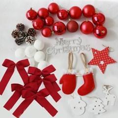 크리스마스 트리 오너먼트 피오르가넷 장식세트
