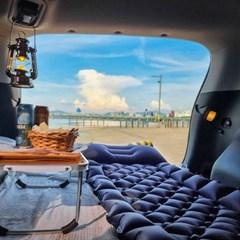 피넛 휴대용 차박 피크닉 캠핑 돗자리 접이식 에어매트