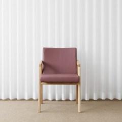 [오크] AQ형 의자 로즈핑크
