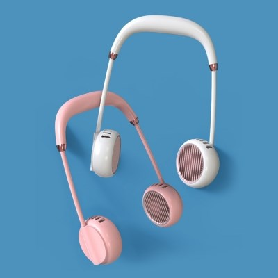 에어핏 휴대용 충전식 넥밴드 선풍기