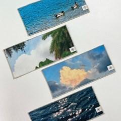 SCENERY FABRIC SEMI TABLE MAT 순간의 풍경 패브릭 세미 테이블매트
