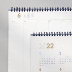 (2022날짜형) 바이풀디자인_세컨 플래너_A4 와이드_주간 2022