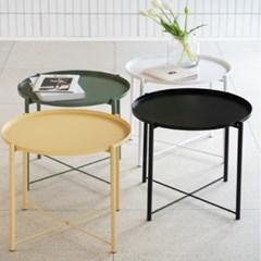 루멘스T 철제 사이드 테이블 4 color
