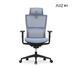 [올즈]  벨리에어 바른 자세교정 S라인 풀메쉬 의자 시공