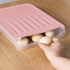 에그키퍼 자동정리 18구 계란케이스 달걀보관함