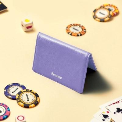 [21FW] FENNEC SOFT CARD CASE - HAZE PURPLE