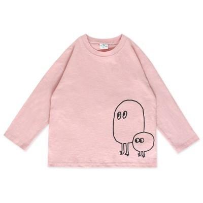 [마미버드] 투게더 티셔츠 (2color)