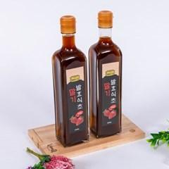 딸기 발효식초 국내산 수제로 만든 500ML5년이상 숙성