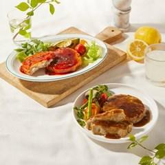 띵커바디 소스 IN 닭가슴살스테이크 2종 (갈비맛/양념치킨맛)