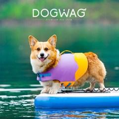 둥둥캔디 강아지 구명조끼 애견 수영 튜브 중형견 수영복 물놀이