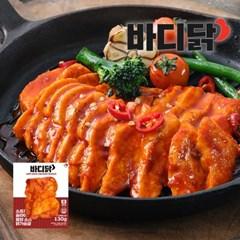 [바디닭] 소프트 슬라이스 불닭 소스 닭가슴살 1팩