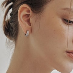 [silver925]pave setting earring