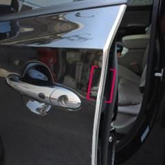 도어가드 자동차 문콕방지 몰딩 크롬 클립형 차량용