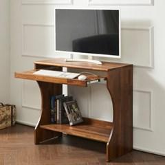 멀바우 원목 좌식 게임용 컴퓨터 작은 1인 책상 입식