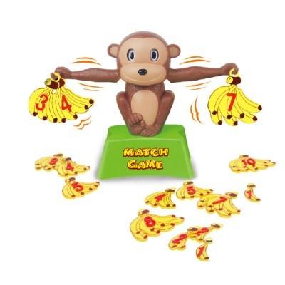 숫자 밸런스 원숭이 저울 바나나 균형 잡기 셈 놀이