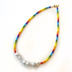 Rainbow Cloud Necklace