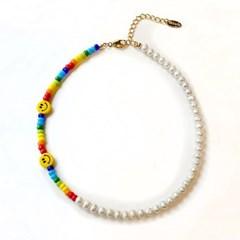 Rainbow smile Necklace