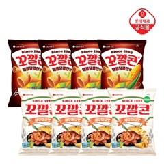 꼬깔콘 매콤달콤한맛67gx4봉+꼬깔콘 새우마요67gx4봉