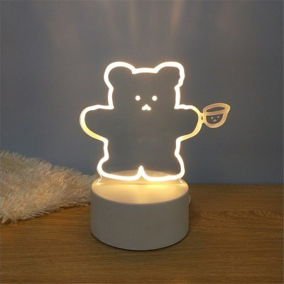3D느낌 LED 아크릴 무드등 인테리어 취침등 조명 28종
