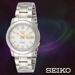 SEIKO 세이코 SNKK07J1 여성 메탈밴드 손목시계