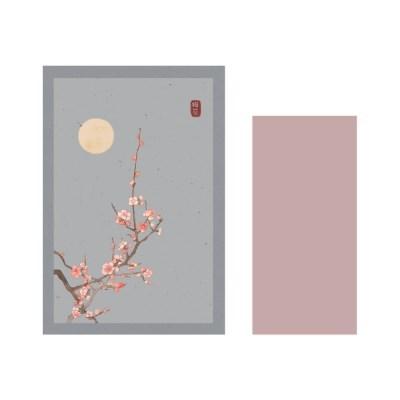 1000 편지지_한국화3