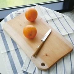 마호가니 원목 사각 우드 도마 홈카페 치즈 캠핑 플레이트 (대)