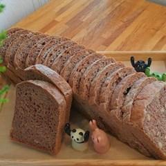 자연발효 통밀빵 뺑콩플레 샌드위치전용 통밀식빵1kg