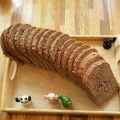 자연발효 통밀빵 뺑드상떼 통곡물 샌드위치식빵 900g