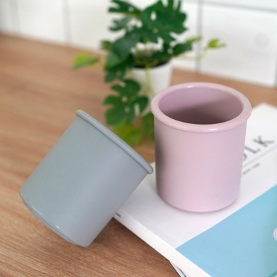 1+1 소프트 실리콘 욕실 다용도 양치 컵