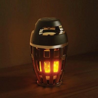 감성캠핑 LED 블루투스 불멍 스피커