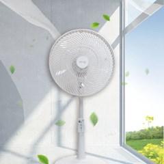 서큘레이터형 공기순환 3단 리모컨 선풍기